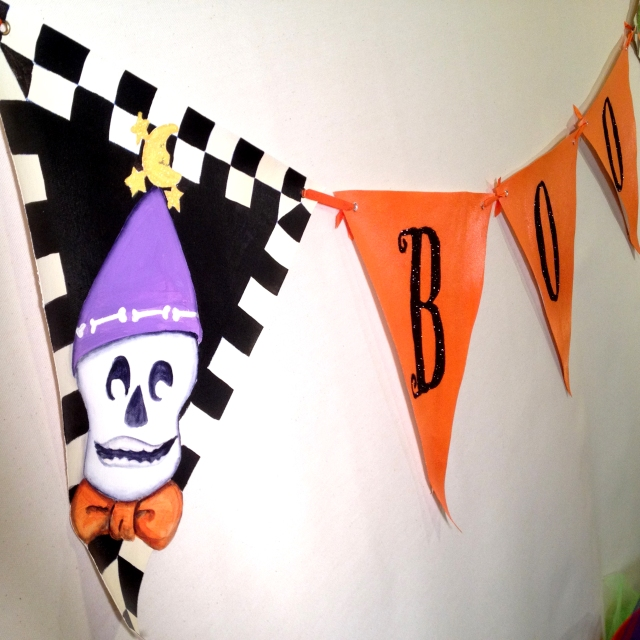 Boo Bunting Skelly 1
